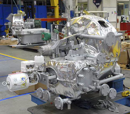 Insulation Blankets For Steam Turbines